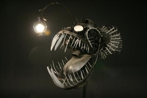 Deep Sea Angler by Justin La Doux